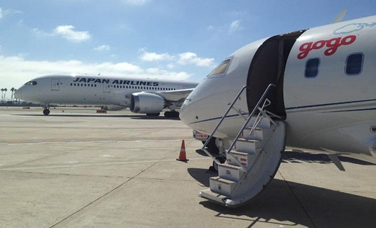 Gogo goes international, to provide Japan Airlines domestic in-flight WiFi