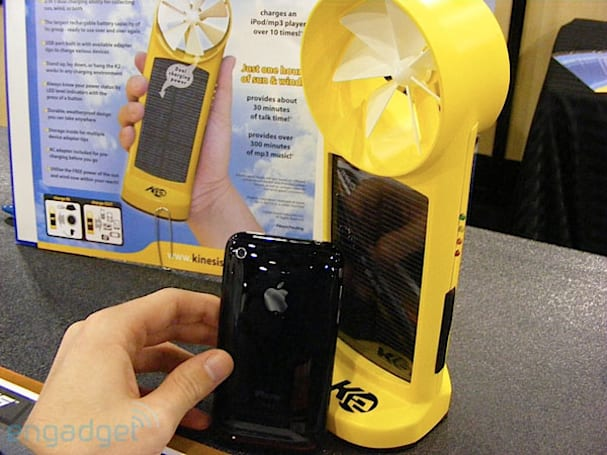 Kinesis K2 solar / wind charger hands-on: Captain Planet approved