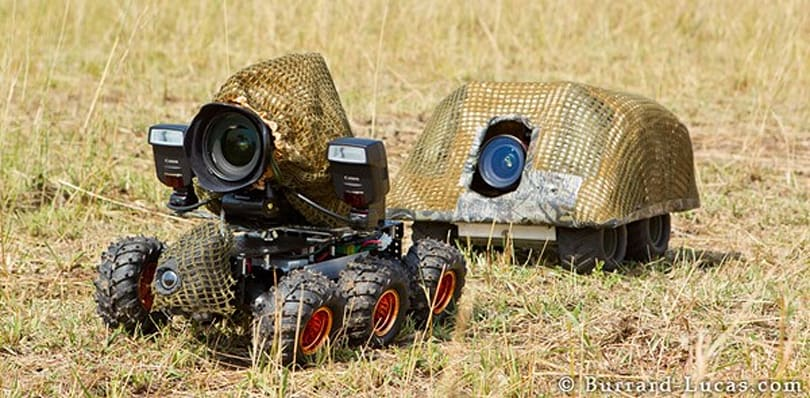 BeetleCam's back with armor on board, and it brought a friend packing a Canon EOS 1Ds MK III