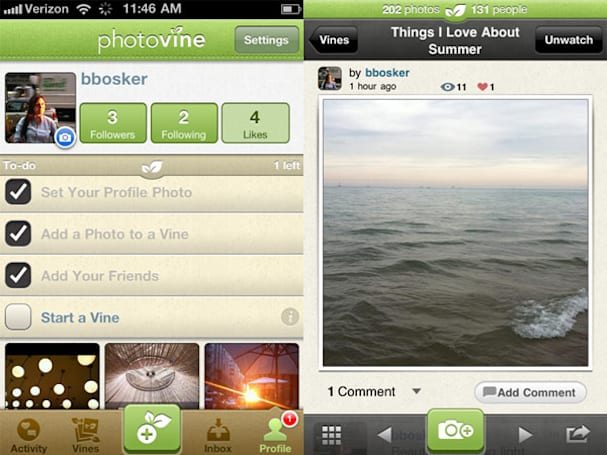 Photovine grows out of private beta, begins sprouting on iPhones everywhere