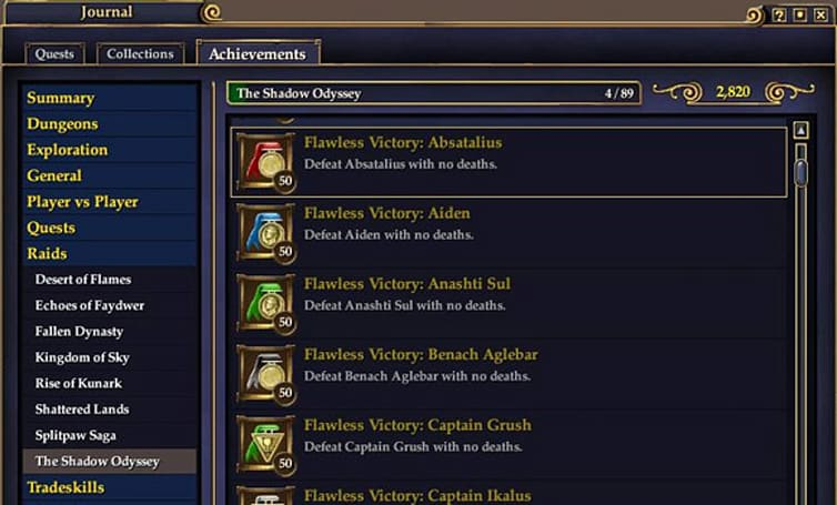 EverQuest II adds new achievements of challenging nature