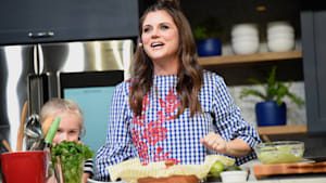 Tour Tiffani Thiessen's Kitchen