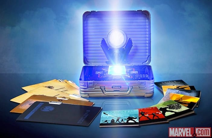 Marvel Cinematic Universe 10-disc Blu-ray set delayed, that sweet Tesseract case is to blame