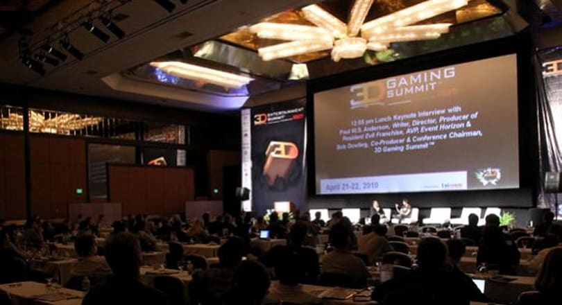 Finding a new dimension for gaming at the 3D Gaming Summit