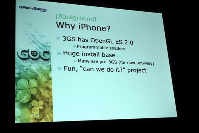 GDC: This is what Unreal Engine 3 on iPhone looks like