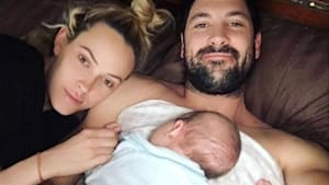 Maks & Peta's 1-Month-Old Son Makes His TV Debut