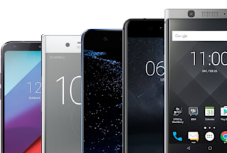 MWC's best phones head-to-head: It's (mostly) about the display