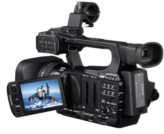XF105 and XF100: Canon's smallest professional camcorders yet