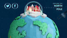 Help your kids keep track of Santa while you travel with the NORAD Santa Tracker app