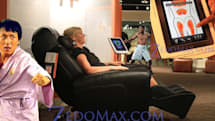 AcuTouch 9500: world's first massage chair to succumb to iPhone, iPod touch and iPad (video)