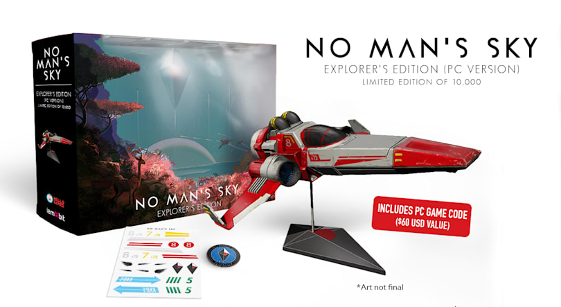 'No Man's Sky' $150 edition comes with a model spaceship