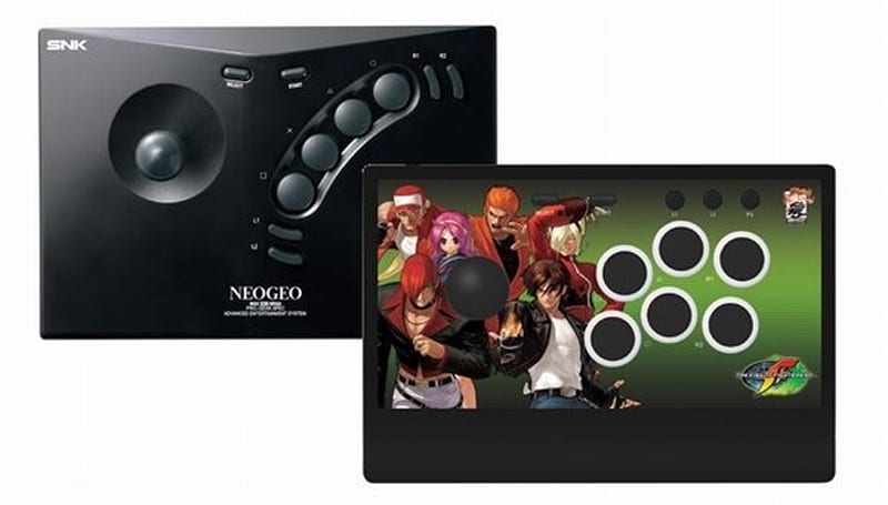 Fight like a king with these SNK fighting sticks