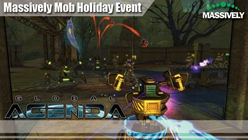 Massively Mob Halloween event: Global Agenda's Oasis Checkpoint... Of Doom!