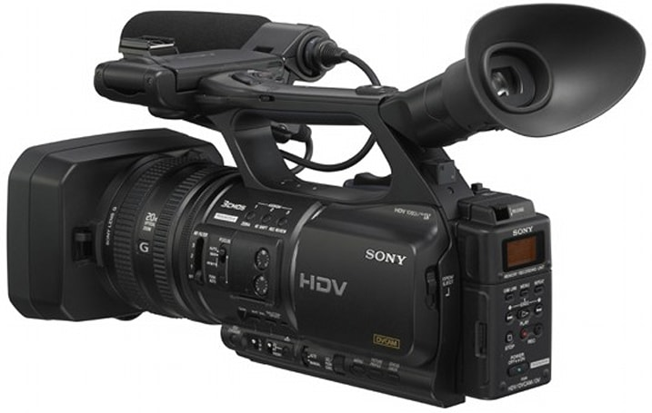 Sony's HDR-FX1000 and HVR-Z5J HD camcorders head stateside