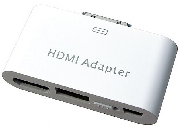 Hanwha unleashes HDMI / USB adapter for iPad, iPhone 4, and fourth-gen iPod touch