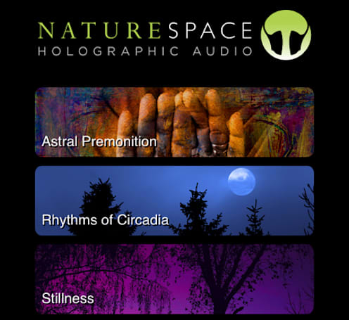 "Naturespace, a ""sonic landscape"" app, has a special Halloween surprise"