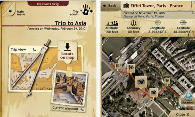 Enter to win Trip Journal 4.0 for the iPhone