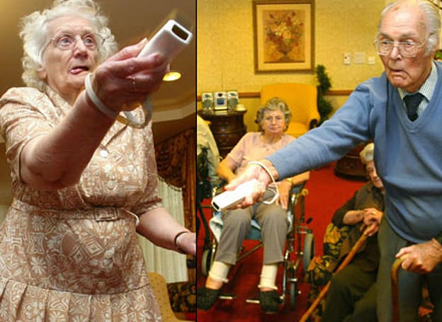Nintendo's Wii continues to be a smash with seniors