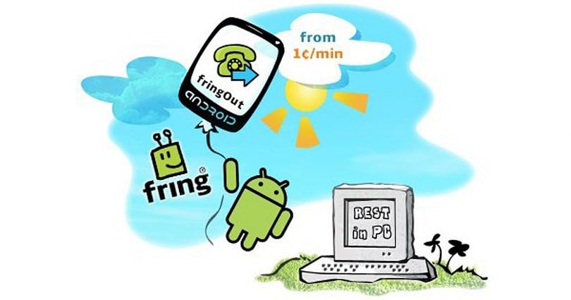 Fring matches Skype, intros FringOut for low-rate Android calls