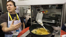 Cooki's the robot chef that only knows how to stir