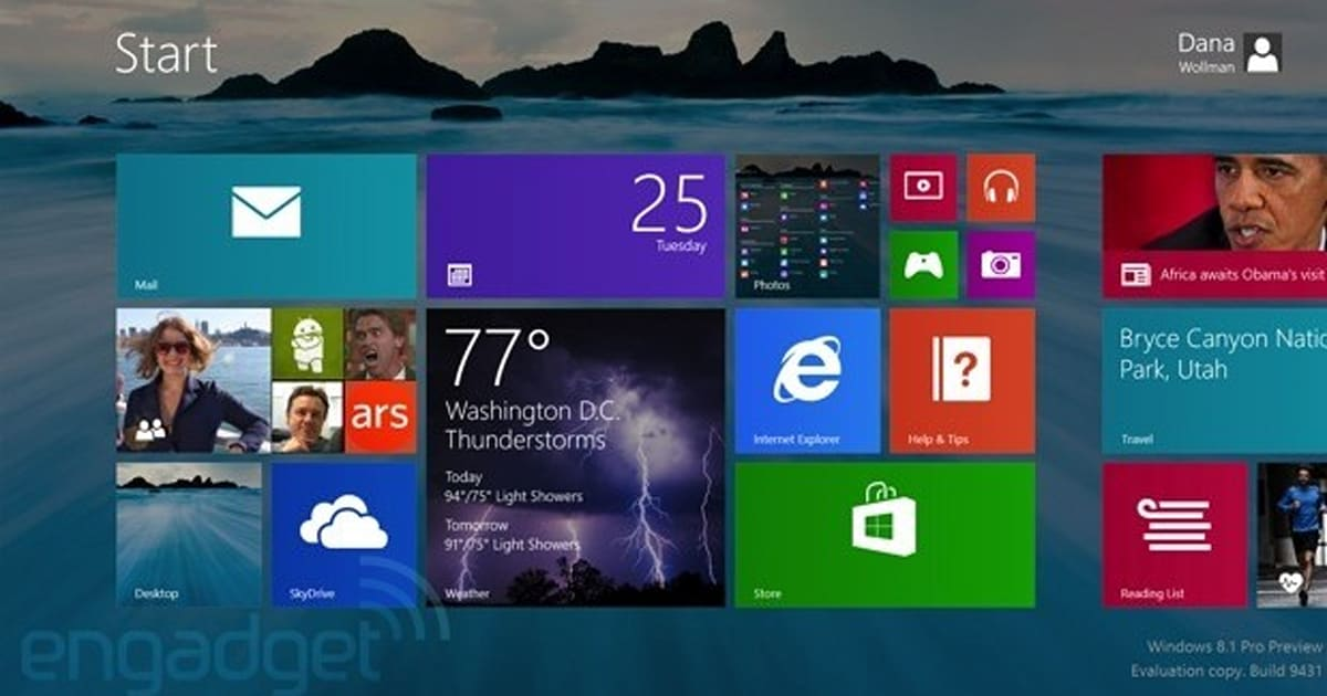 Windows 8 1 In Depth Hands On Features Apps Impressions