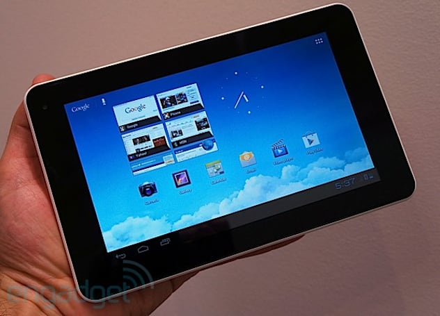 Huawei MediaPad 7 Lite hands-on at IFA 2012 (updated: video)