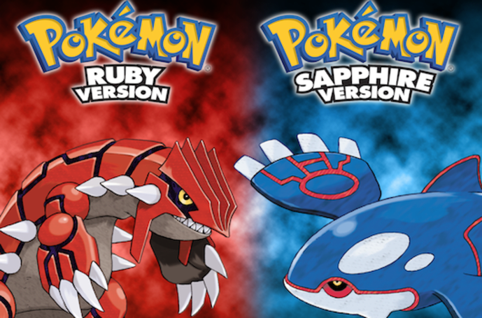 Pokemon Ruby and Sapphire music collection now on iTunes