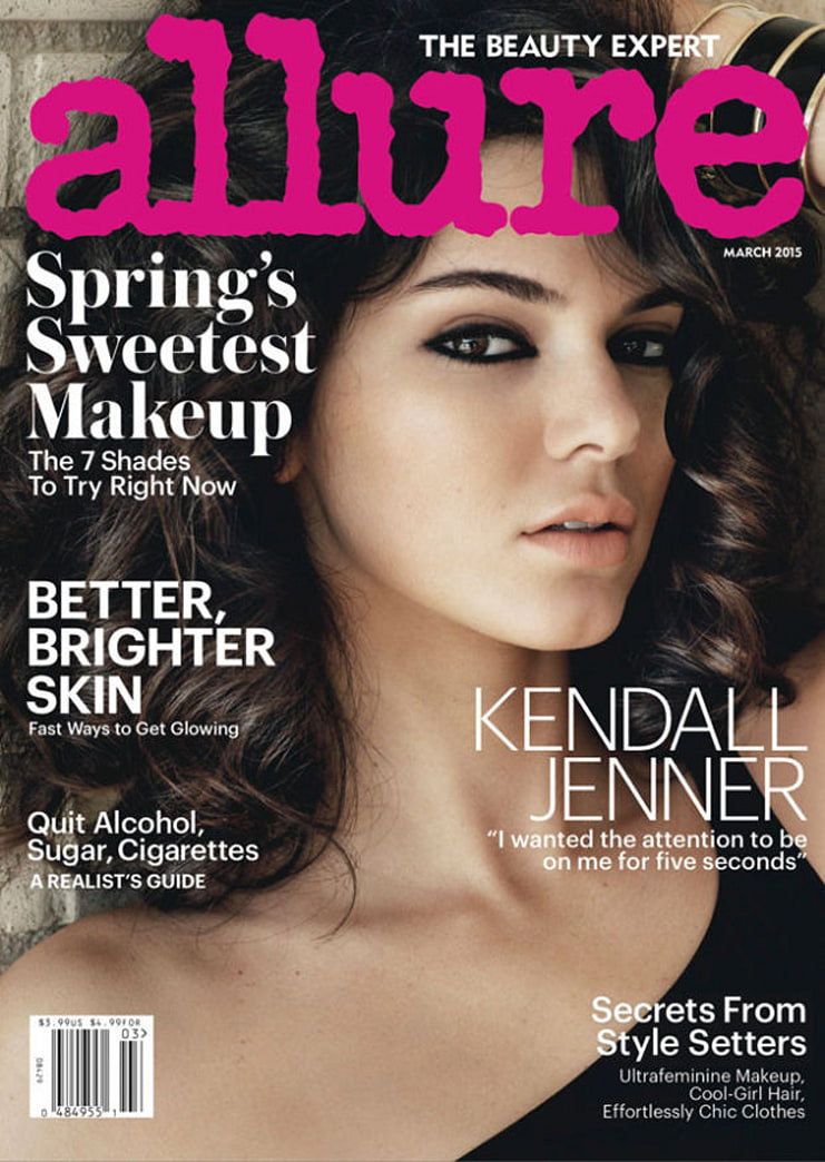 Kendall Jenner goes glamazon for 'Allure'