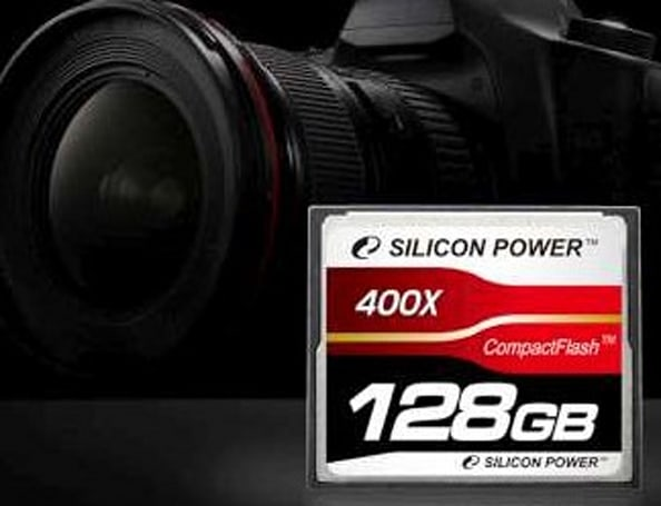 Silicon Power crams 128GB into 400x Compact Flash card: a world's first
