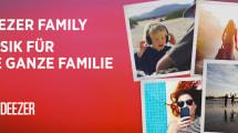 Deezer startet kostengünstiges Familien-Streaming