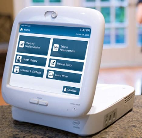 Comprehensive Intel Health Guide seeks to provide in-home health monitoring