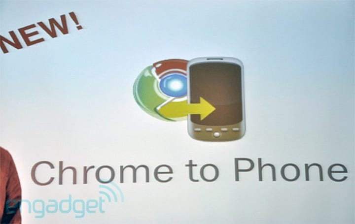 Chrome to Phone now available in Android Market
