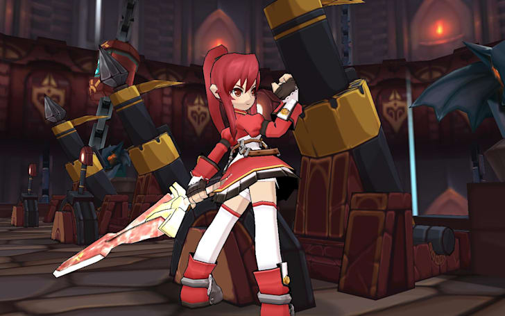 Elsword imports crossover character, Elesis, from Grand Chase