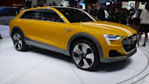 Audi's hydrogen concept car fuels up in four minutes