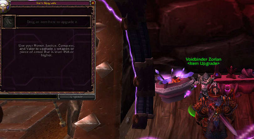 Patch 5.1 PTR: Upgrading items with justice and valor