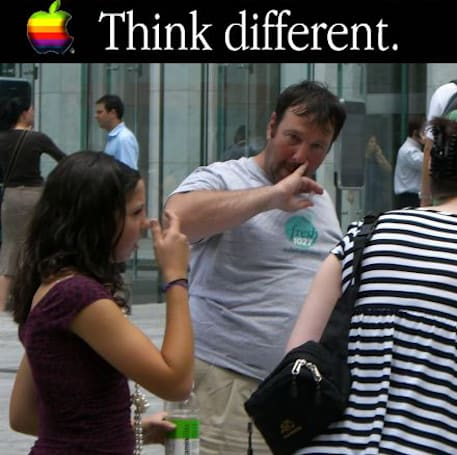 "iPhone protest vid uses Apple's own words to support the ""crazy ones"""