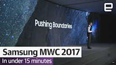Watch Samsung's MWC 2017 event in under 15 minutes
