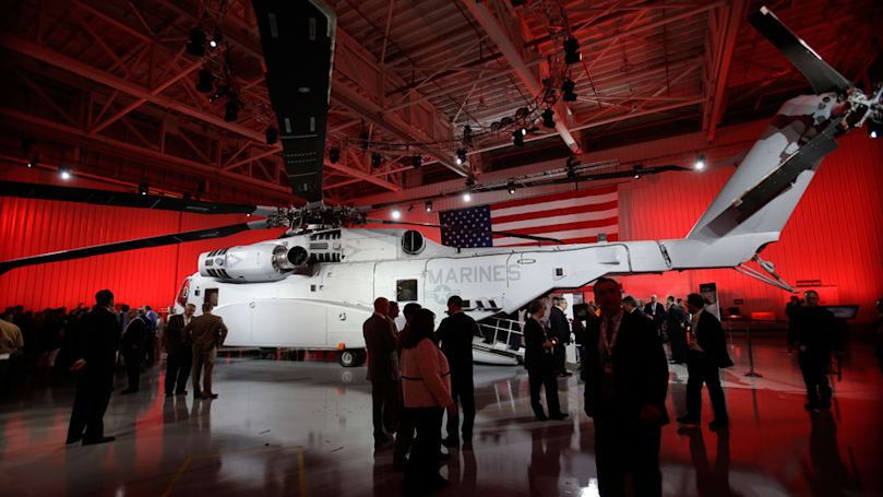 Lockheed Martin buys helicopter maker Sikorsky