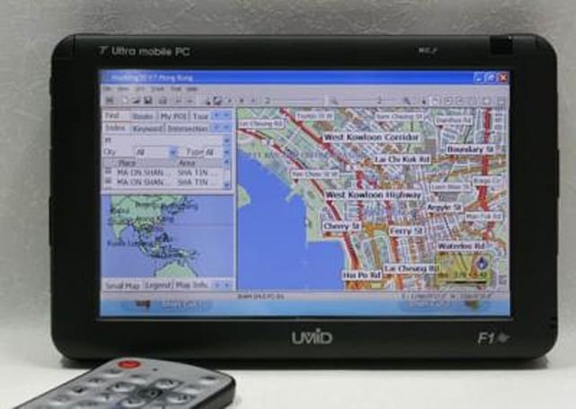 UMID F1 GPS-enabled, breathalyzin' UMPC available in Korea
