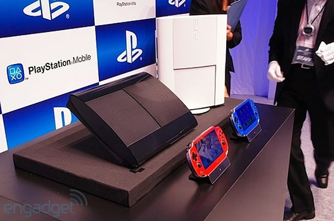 Redesigned PS3 caught on camera, up close and personal