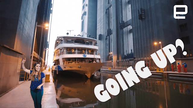 ICYMI: All aboard the world's largest boat elevator