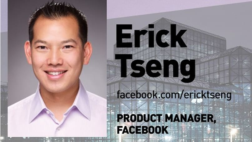 Live from Expand: Facebook Product Manager Erick Tseng