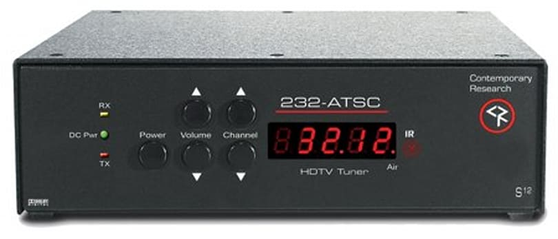Contemporary Research's RS-232 controllable ATSC STB