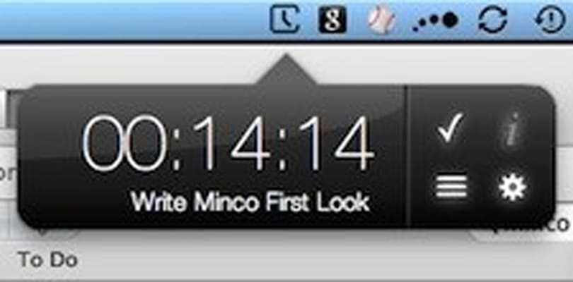 First Look: Minimalist time tracking on Mac using Minco