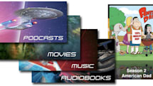 iTunes Store gains Star Trek podcasts, music and books, American Dad debuts