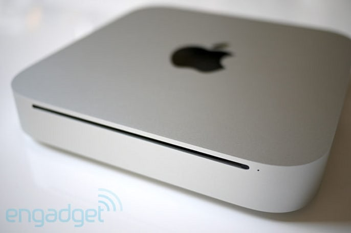 Mac mini (unibody) unboxing and hands-on