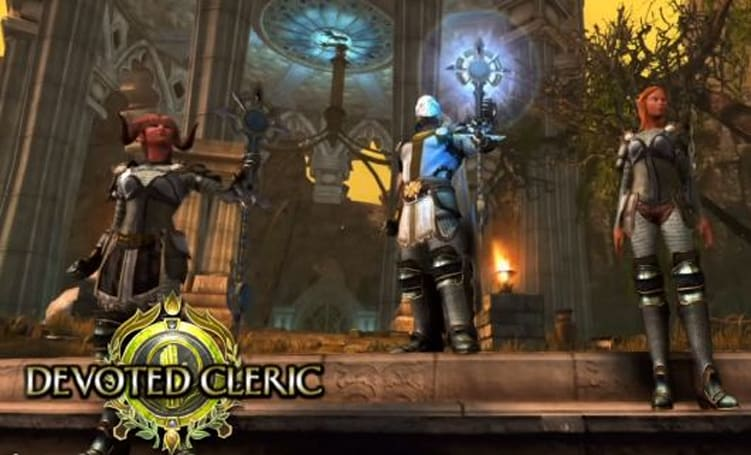 Neverwinter unveils the Devoted Cleric