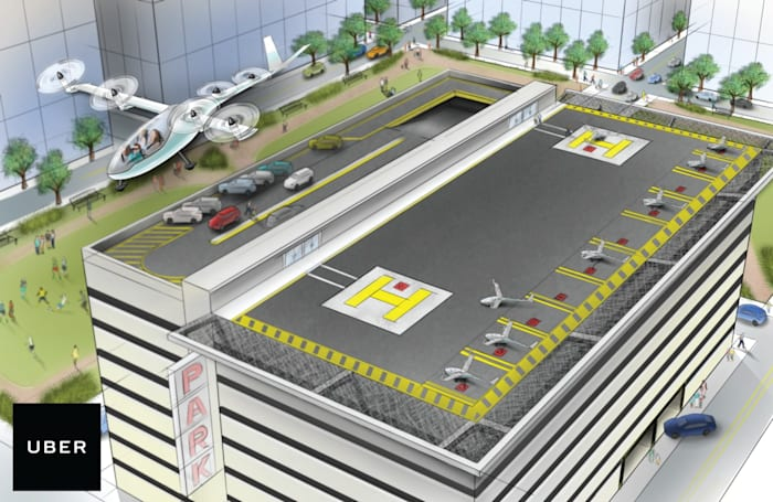 If someone else makes flying cars happen, Uber will be ready