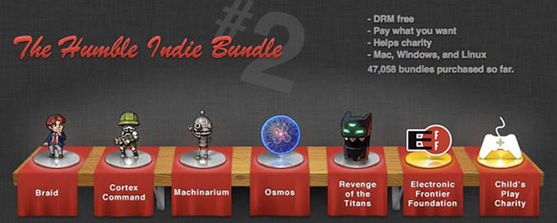 Humble Indie Bundle 2 offers more Mac gaming deals