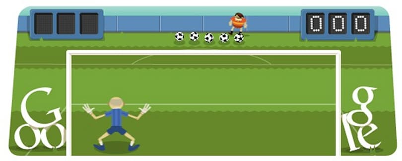 Doodle friday: End your week with a penalty shootout